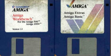 Amiga Workbench 1 2